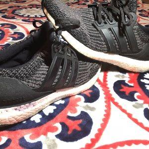 Adidas Ultra Boost Utility Black Boys Size 7